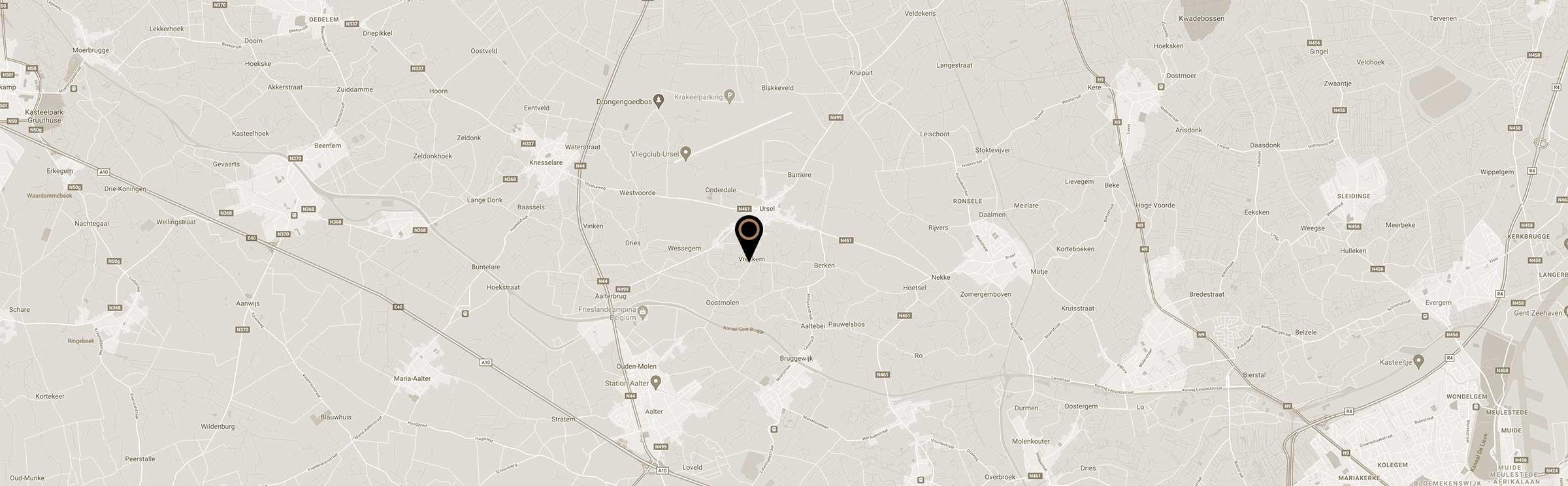 kaart Chris Keramiek klei atelier